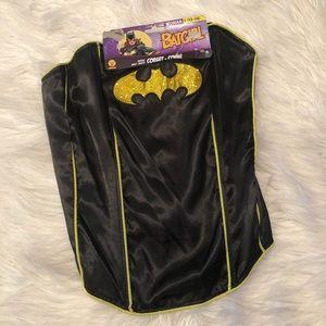 Rubies batgirl corset